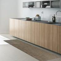 Tappeto cucina antiscivolo Industry Unito tortora 50x280 cm