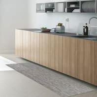 Tappeto cucina antiscivolo Industry Unito grigio chiaro 50x230 cm