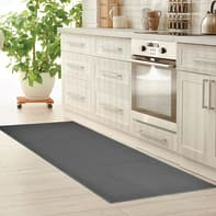 Tappeto Sandy , grigio medio, 57x135 cm