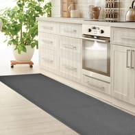 Tappeto cucina antiscivolo Sandy grigio medio 57x230 cm