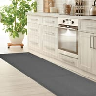 Tappeto Sandy , grigio medio, 57x280 cm
