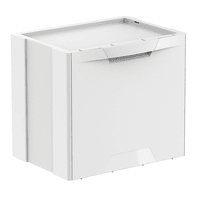 Pattumiera Ecocubes MELICONI manuale bianco 22 L