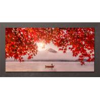 Quadro con cornice Tree 136x76 cm