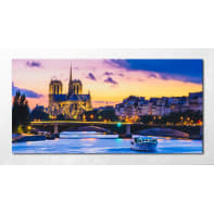 Quadro con cornice Paris 136x76 cm
