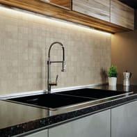 Mosaico Draft Warm H 30 x L 30 cm grigio