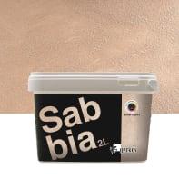 Pittura decorativa GECKOS Sabbia 2 l marrone talpa 5 effetto sabbiato