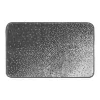 Tappeto bagno rettangolare Pixel in polipropilene grigio 80 x 50 cm