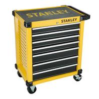 Trolley porta utensili STANLEY Carrello da officina a 7 cassetti in metallo , L 53.5 x H 83.5 cm