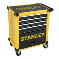 Trolley porta utensili STANLEY in metallo 1 ruota 4 cassetti , L 46.2 x H 89 cm