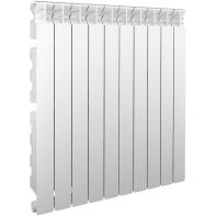 Radiatore acqua calda EQUATION 800/100 in alluminio 10 elementi interasse 80 cm