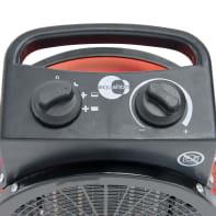 Termoventilatore ceramico mobile EQUATION rosso 3000.0 W