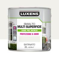Pittura LUXENS acrilico bianco ral9016 2 L