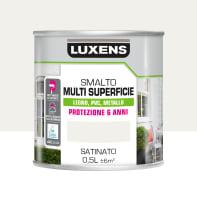 Pittura LUXENS acrilico bianco ral9016 0.5 L