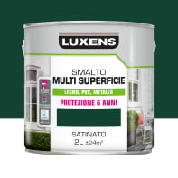 Pittura LUXENS acrilico verde ral6005 2 L