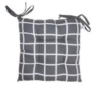 Cuscino per sedia antracite 40x40 cm