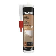 Silicone sigillante AXTON Legno e parquet noce medio 280 ml
