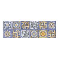 Piastrella per rivestimenti Calabria 25 x 50 cm sp. 8.8 mm milticolore