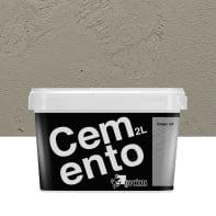 Pittura decorativa GECKOS Cemento 2 l grigio 4 effetto cemento