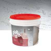 Pittura decorativa Pietra 8 kg bianco effetto cemento