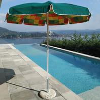 Ombrellone NATERIAL Trieste L 1.85 x P 1.85 m color verde