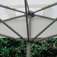 Ombrellone Taormina L 2.3 x P 1.3 m color ecru