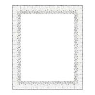 Cornice Dalia bianco per foto da 24x30 cm