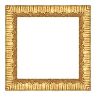 Cornice Dalia oro per foto da 20x20 cm
