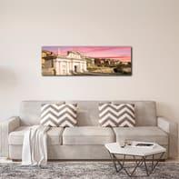 Quadro su tela Bergamo Porta San Giacomo 125x40 cm