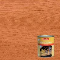 Vernice per legno da esterno liquido SYNTILOR 1 L ciliegio lucido