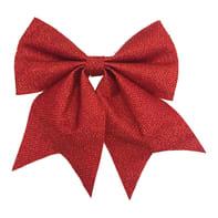 Fiocco Fiocco in tessuto rosso brillante , L 24 cm x P 1 cm