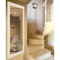 Specchio a parete quadrato 2080 bianco 70x180 cm