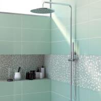 Mosaico Tonic Green H 30 x L 30 cm verde