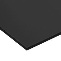 Lastra Crepla gomma eva nero 42 cm x 29.7 cm, Sp 10 mm