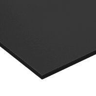 Lastra Crepla gomma eva nero 50 cm x 100 cm, Sp 10 mm