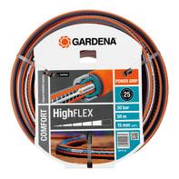 Tubo di irrigazione rinforzato a maglia antiavvitamento e antitorsione GARDENA Comfort HighFLEX L 50 m x Ø 39 mm