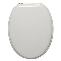 Copriwater ovale Universale Pop SENSEA legno compresso bianco