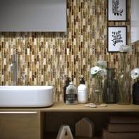 Mosaico Beige H 30 x L 30 cm beige /sabbia