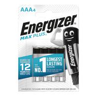 Pila LR03 AAA ENERGIZER Max Plus 4 batterie