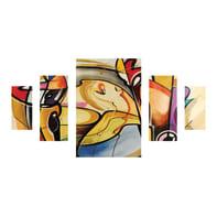 Quadro su tela Ispirazione Gockel 175x90 cm