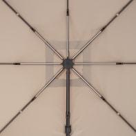 Ombrellone NATERIAL L 290 x P 290 m color tortora