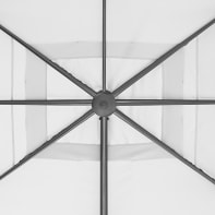 Telo di ricambio ombrellone aura NATERIAL colore bianco 281 x 386 cm