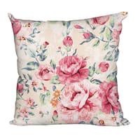 Cuscino Anniversary rosa e ecrù 60x60 cm