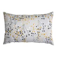 Cuscino Ecolibò giallo e ecrù 40x60 cm