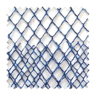 Tessuto al taglio Lurex blu 160 cm