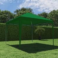 Gazebo acciaio Eori verde L 295 cm x P 295 cm, H 1.76 m