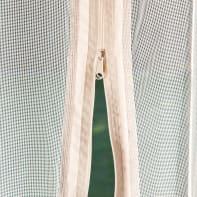 Tenda zanzariera marrone L 348 x H 204 cm