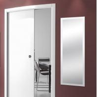 Specchio a parete rettangolare Sibilla bianco 59x159 cm