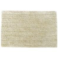 Tappeto bagno rettangolare Essential cream in cotone beige 60 x 40 cm