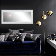 Specchio a parete rettangolare Fiorenza bianco 60x170 cm