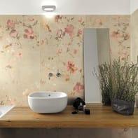 Piastrella City Grey Decoro Flower 60 x 120 cm sp. 10 mm PEI 5/5 beige